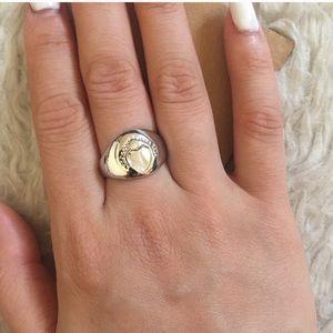 Brandy Melville Heart Ring